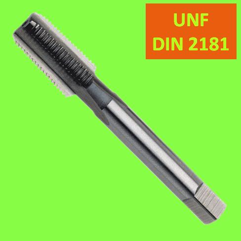 Taraud Machine HSS DIN 2181 Droit UNF