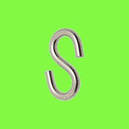 Gancio a S simmetrico