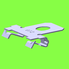 Agrafe Support Tube 0° - Cable Clip Adapters 0°