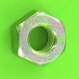 Dado esagonale acciaio zincato classe 8 Din 934