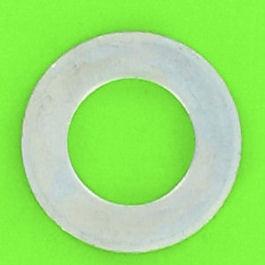 Rondella ottone placcato nickel Din 433
