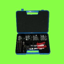 Confezioni, fusto cilindrico zigrinato, M4-M5-M6 con pinza BRK01