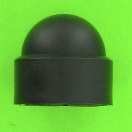 Cache Ecrou Polyéthylène Noir
