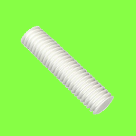 Tige Filetée Nylon PA6-6 Naturel Din 975