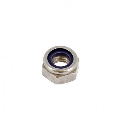 Dado Nylstop acciaio inossidabile A2 Din 985