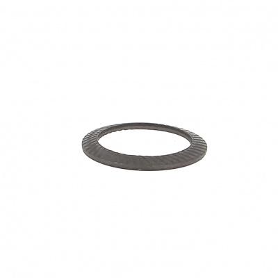 Rondella Schnorr S acciaio nero