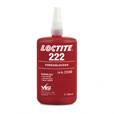 FREINFILET FAIBLE USAGE GENERAL LOCTITE 222