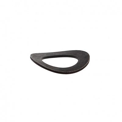 Rondella Onduflex A acciaio nero Din 137A